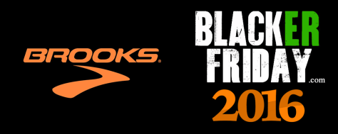 Brooks Running Black Friday 2016