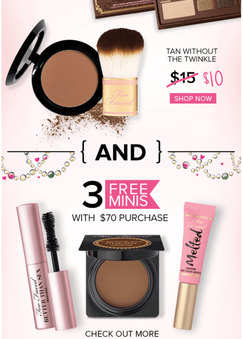 Too Faced black friday ad scan - page 2