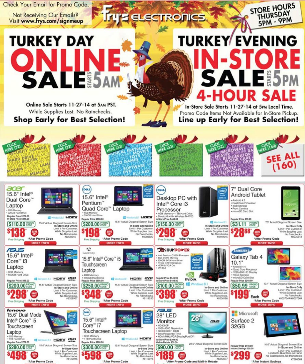 Fry's Black Friday 2017 Sale, Deals & Ad | Blacker Friday