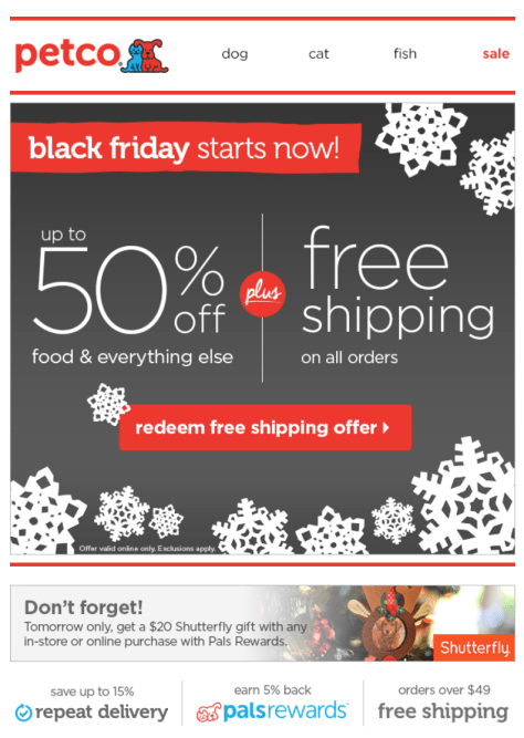 petco black friday ad scan - page 1