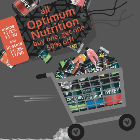 the vitamin shoppe black friday ad scan - page 1