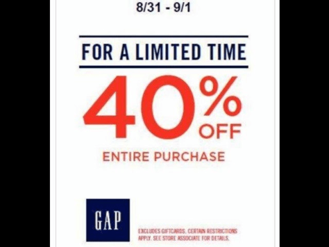 Gap Labor Day Sale - Page 3