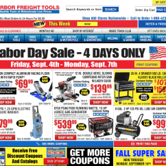 Harbor Freight Gibson Guitar Wiring Diagrams Tools Labor Day Sale 2015 Online And In