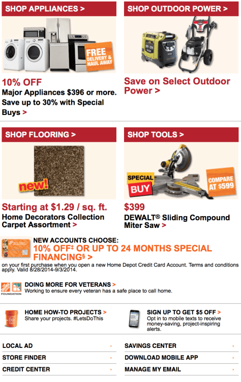 Home Depot Labor Day Sale - Page 2