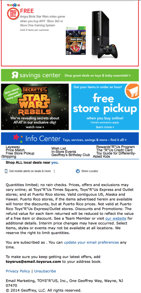 Toys R Us Labor Day Sale - Page 2
