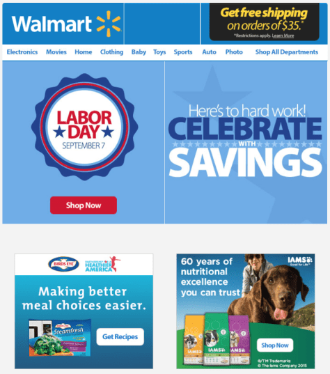 Walmart Labor Day Sale 2015 - Page 1