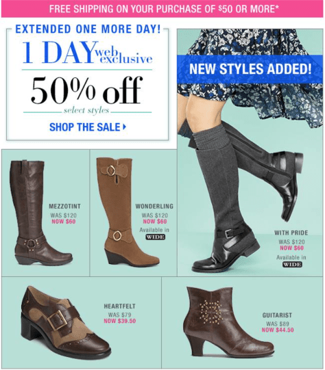 Aerosoles Black Friday Ad - Page 2
