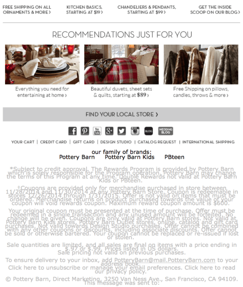 Pottery Barn Black Friday Ad - Page 3