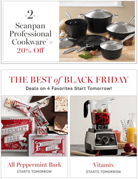 Williams Sonoma Black Friday Ad - Page 2