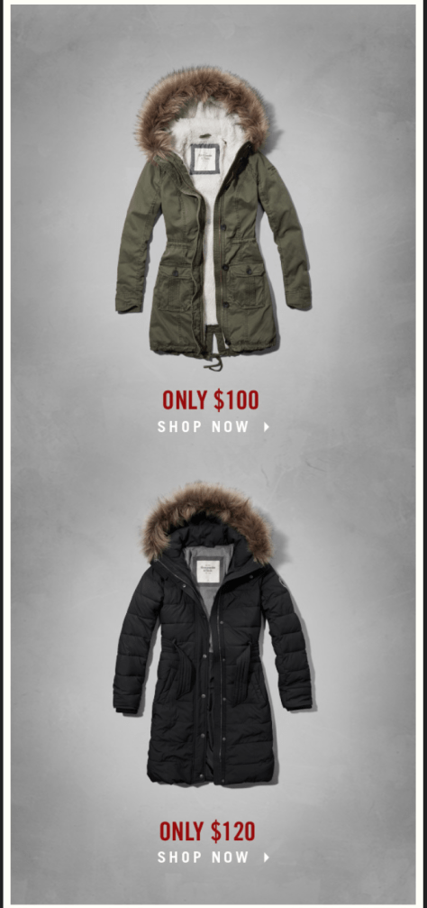 Abercrombie and Fitch Cyber Monday Ad - Page 3