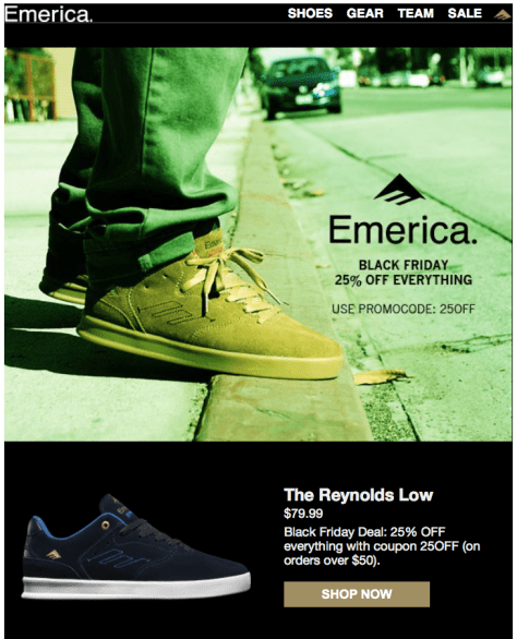 Emerica Black Friday Ad - Page 1