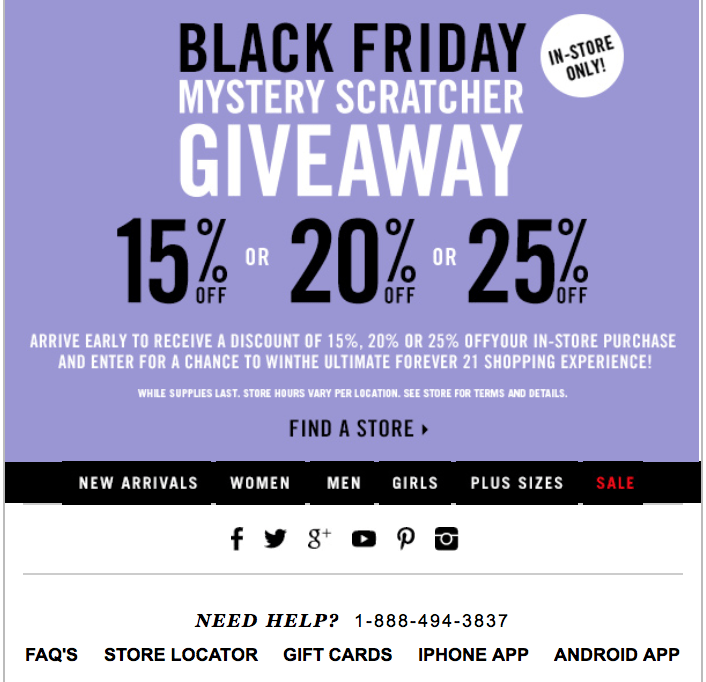 30 verified Forever 21 coupon & promo codes