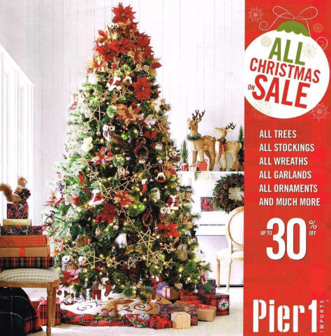 Pier 1 Black Friday 2015 Ad - Page 1