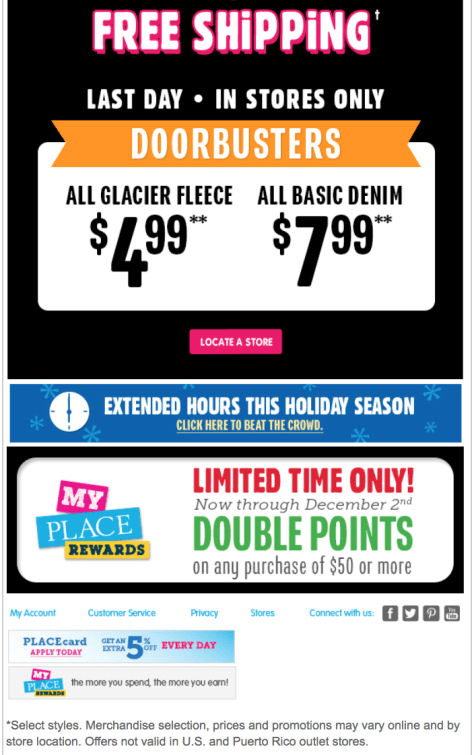The Childrens Place Black Friday Ad - Page 2