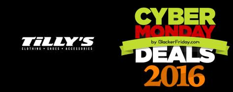 Tillys Cyber Monday 2016