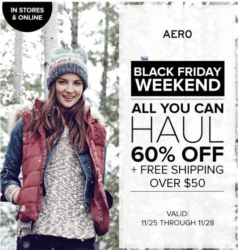 Aeropostale Black Friday 2015 Flyer - Page 2