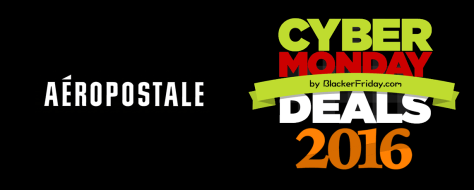 Aeropostale Cyber Monday 2016