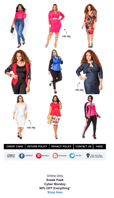 Ashley Stewart Cyber Monday Ad - Page 2
