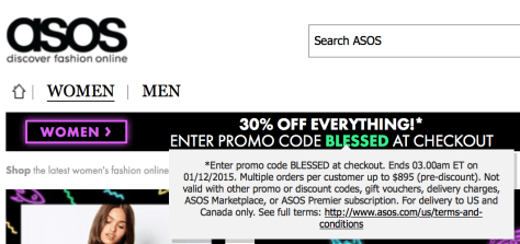 Asos Black Friday 2015 Ad - Page 2
