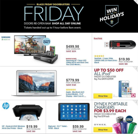 Best Buy Black Friday 2015 Ad - Page 4