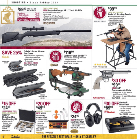 Cabelas Black Friday 2015 Ad - Page 10
