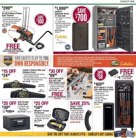 Cabelas Black Friday 2015 Ad - Page 11