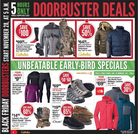 Cabelas Black Friday Ad - Page 4