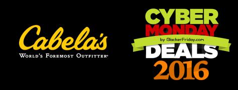 Cabelas Cyber Monday 2016