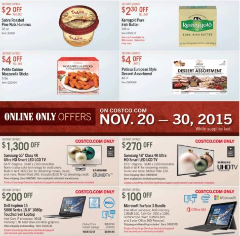 Costco Black Friday 2015 Ad - Page 12
