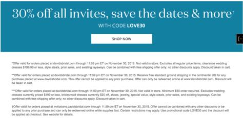 Davids Bridal Cyber Monday 2015 Ad - Page 4