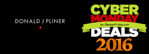 Donald J Pliner Cyber Monday 2016