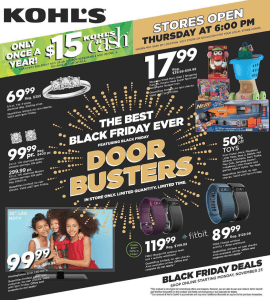 Fitbit Black Friday 2015 Ad - Page 1