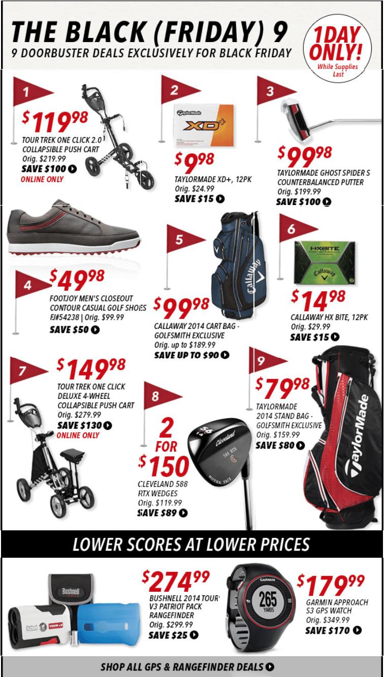 Golfsmith shop online