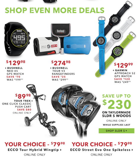 Golfsmith Cyber Monday 2015 Ad - Page 4