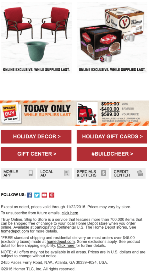 Home Depot Black Friday 2015 Sneak Peak Ad - Page 2.fw
