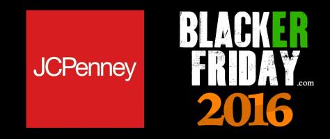 JCPenny Black Friday 2016