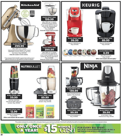 Kohls Black Friday 2015 Ad - Page 20