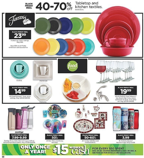 Kohls Black Friday 2015 Ad - Page 22