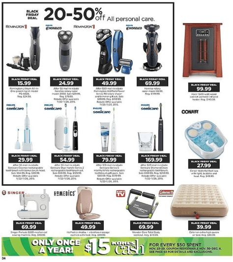 Kohls Black Friday 2015 Ad - Page 34