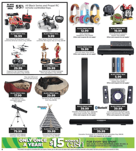 Kohls Black Friday 2015 Ad - Page 4