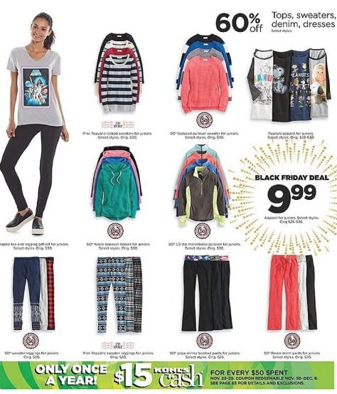Kohls Black Friday 2015 Ad - Page 50