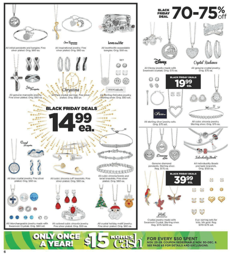 Kohls Black Friday 2015 Ad - Page 6