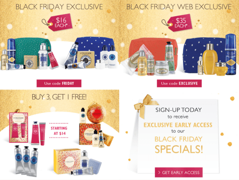 Loccitane Black Friday 2015 Ad - Page 1