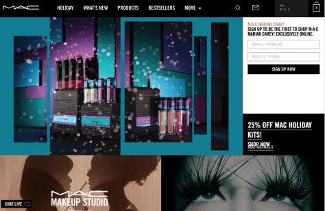 Mac Cosmetics Cyber Monday 2015 Ad - Page 1