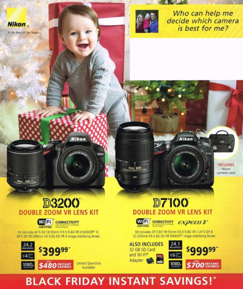 Nikon Black Friday 2015 Ads - Page 1