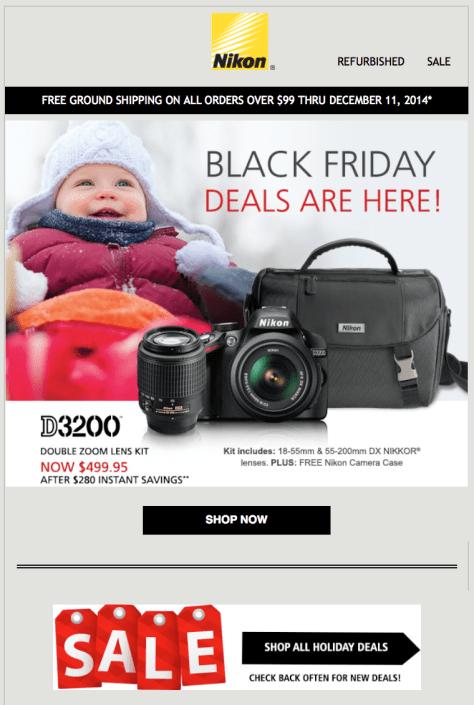 Black friday camera deals 2018 canada