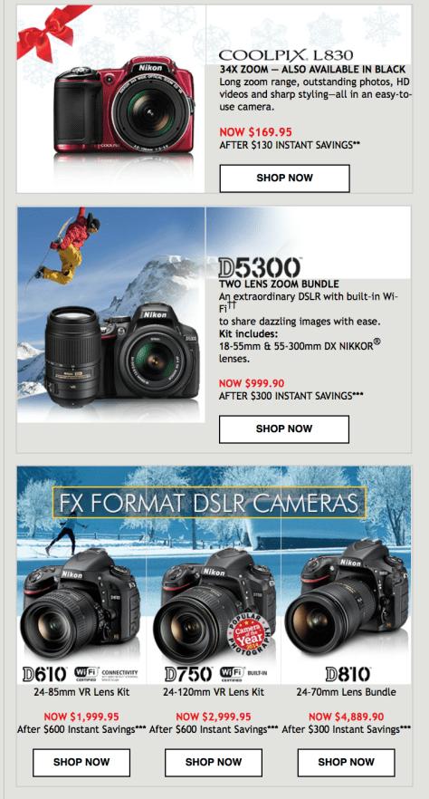 Nikon Black Friday Ad - Page 2