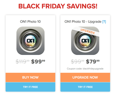 ON1 Black Friday 2015 Flyer - Page 2