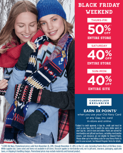 Old Navy Black Friday 2015 Ad - Page 9