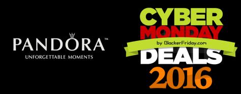 Pandora Cyber Monday 2016